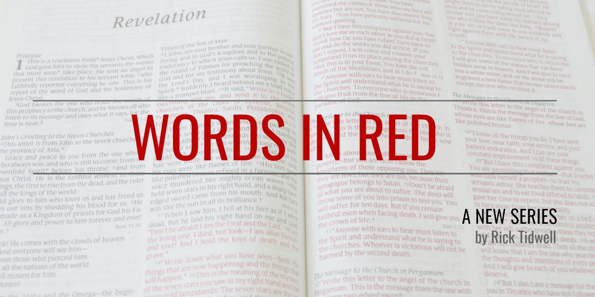 Words-in-Red-bible-use